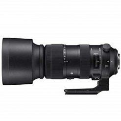 Sigma 60-600mm f/22-32 Fixed Zoom F4.5-6.3 DG OS HSM Camera Lenses, Black (730954)Canon EF