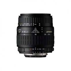 Sigma Zoom Wide Angle-Telephoto 28-80mm f/3.5-5.6 II Mini Zoom Macro Aspherical Autofocus Lens for Minolta/Sony AF Silver