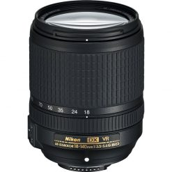 Nikon USA 18-140mm f/3.5-5.6G ED VR AF-S DX NIKKOR Zoom Lens 5 YR Warranty