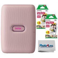 Fujifilm Instax Mini Link Smartphone Printer (Dusky Pink) - 16640761