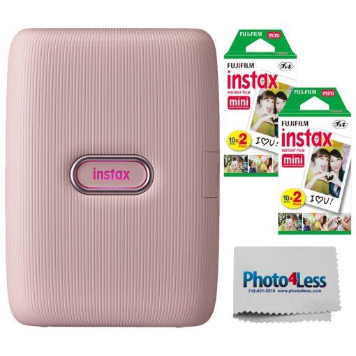 Fujifilm Instax Mini Link Smartphone Printer (Dusky Pink) – 16640761