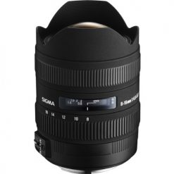 Sigma 8-16mm f/4.5-5.6 DC HSM FLD AF Ultra Wide Zoom Lens for APS-C sized Canon Digital DSLR Camera
