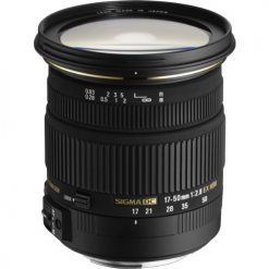 Sigma 17-50mm f/2.8 EX DC OS HSM FLD Large Aperture Standard Zoom Lens for Canon Digital DSLR Camera(583101)