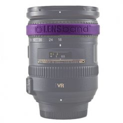 Lens Band Stop Zoom Creep for Zoom Lenses (Purple)
