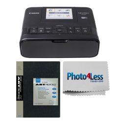 Canon SELPHY CP1300 Compact Photo Printer (Black) + Photo Album