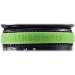 Lens Band Stop Zoom Creep for One Size Fits All Lens, Glow Green