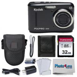 Kodak PIXPRO Friendly Zoom FZ43 16 MP Digital Camera (Black)