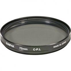 Sunpak CF-7062 CP 72mm Circular Polarized Filter