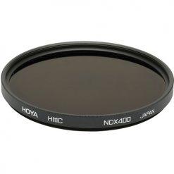 Hoya 62mm Neutral Density ND-400 X, 9 Stop Multi-Coated Glass Filter