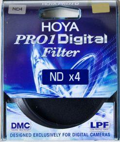 Hoya 72mm DMC PRO1 Digital ND4X (0.6) Neutral Density Filter