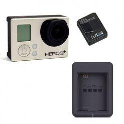 GoPro Camera HERO3+ Silver Bundle (Silver)