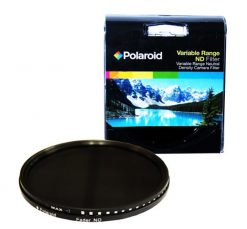 Polaroid Optics 55mm HD Multi-Coated Variable Range (ND3, ND6, ND9, ND16, ND32, ND400) Neutral Density (ND) Fader Filter - 6 Filters in 1!