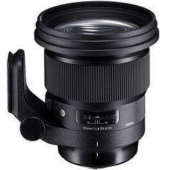 Sigma 259954 105mm f/1.4-16 Standard Fixed Prime Camera Lens, Black(Canon)