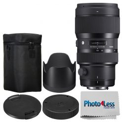 Sigma 50-100mm F1.8 Art DC HSM Lens for Nikon F + Manufacturer Acc + Cloth