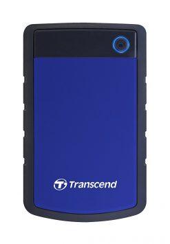 "Transcend StoreJet Shock Resistant Portable External Hard Drive 4TB 2.5"" Navy Blue"