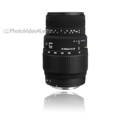 Sigma 70-300mm f/4-5.6 DG Macro Autofocus Lens (with built-in motor) for Nikon AF (5A9306)