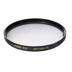 Sigma 62mm UV EX DG Multi-Coated Glass Filter
