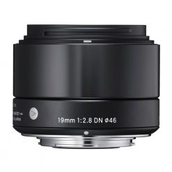 Sigma 19mm F2.8 EX DN Art (Black) for Micro 4/3(40B963)