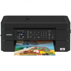 Brother Work Smart Series MFC-J491DW Compact Color All-In-One Printer