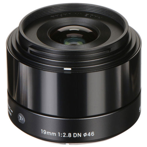 Sigma 19mm f/2.8 DN Lens for Micro Four Thirds Cameras (Black) + Top Value Kit