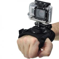 Xit XTGPWMROTATE Rotating Velcro Wrist Strap for GoPro (Black)