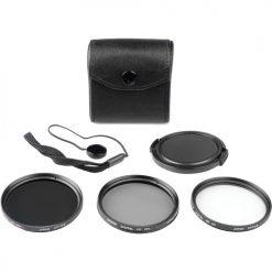 Bower 62mm 5-Piece Digital Filter Kit (UV, CP & ND Filter)