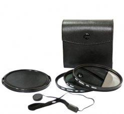 Bower 77mm 5 Piece Digital Filter Kit UV, CP & ND Filter