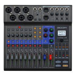 Zoom LiveTrak L-8 Portable Digital Mixer, Multitrack Recorder