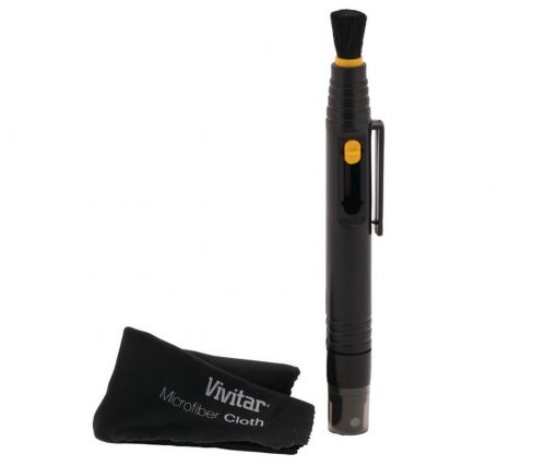Vivitar Lens Pen with Spray & Brush HF-LCP
