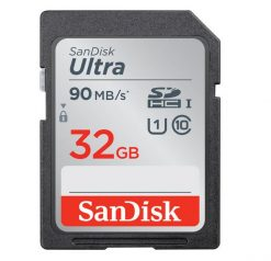 SanDisk 32GB Ultra SDHC UHS-I Memory Card