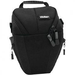 VIVITAR VIV-DKS-8 Long-Zoom SLR Camera Holster Case (Black)