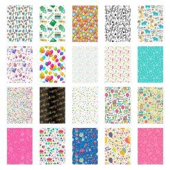 20 Sticker Frames for Fuji Instax Prints Birthday Package XTFSTICK20BD