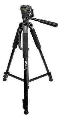 Ultimaxx 60 Inch Pro Series Full Size Camera/Video Tripod- Black