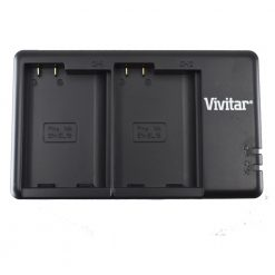 Vivitar Dual Battery Charger for the Nikon ENEL15A VIV-QC-3052