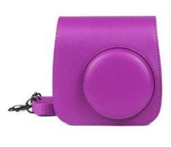 Caiul Groovy Case For Fuji Instax Mini Camera Purple