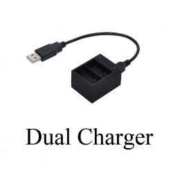 DUAL CHARGER FOR GOPRO HERO 3