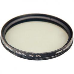 Bower Digital Multi-Coated High-Definition 46mm Circular Polarizer Filter