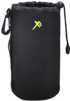 "Xit XTLPL Neoprene Soft Lens Pouch 8"" (Black)"