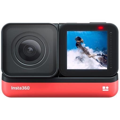 Insta360 ONE R Twin Edition + GB SD Card + Monopod + Spike + SD Card Reader + Cloth