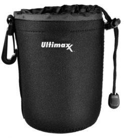 "Ultimaxx Neoprene Soft Lens Pouch 6"""