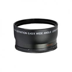 Digital Concepts 58mm 0.43x Wide Angle Lens With Macro