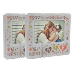 2 Wooden 4x6 Picture Frames For Mom- Great Mother's Day Gift