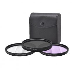 Xit 62mm 3-Piece Multi Coated Glass Filter Kit UV, CP & FLD Filter