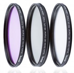 Ultimaxx 72mm 3-Piece Multi Coated Glass Filter Kit UV, CP & FLD Filter