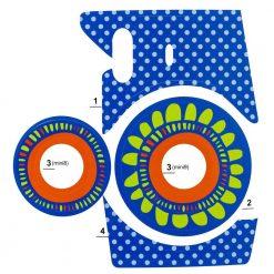 Xit Camera Sticker For Fuji Instax Mini Cameras Purple XTFSTICKPR