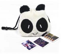 Panda Pattern Bag for Camera- Black/White