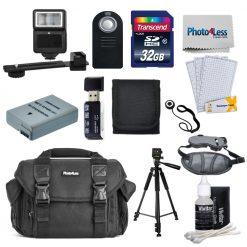 Accessory Bundle for Nikon D3200 DSLR Camera
