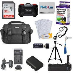Photo4less Camera Case + Canon 80D Accessories