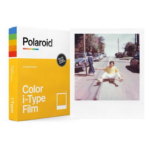 Polaroid Color Film for I-Type (8 Exposures) + Album + Cloth