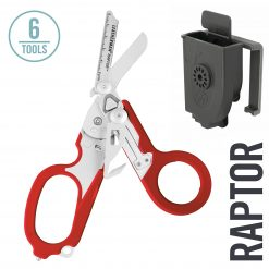 Leatherman - Raptor Emergency Medical Shears & Multitool, Red with Utility Holster